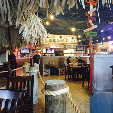 Hurricane Grill & Wings: Key West/Beach Theme decoration