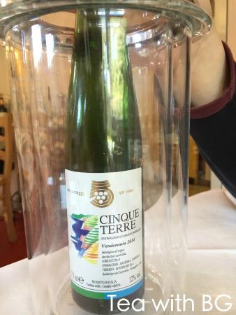 Cappun Magru in casa di Marin: Cinque Terre wine
