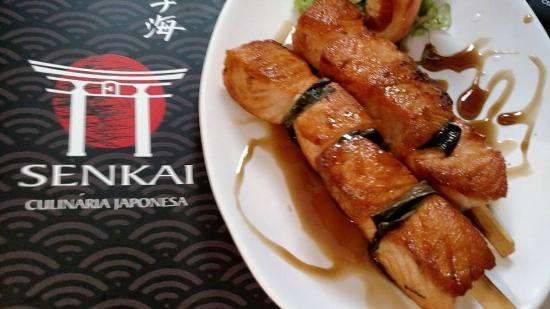 Senkai Sushi: Robata de Salmão