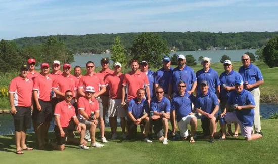 Geneva National Golf Club: Full group pic