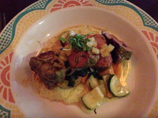 Cafe Ena: Lechon - pork tenderloin over gnocchi. Delish.