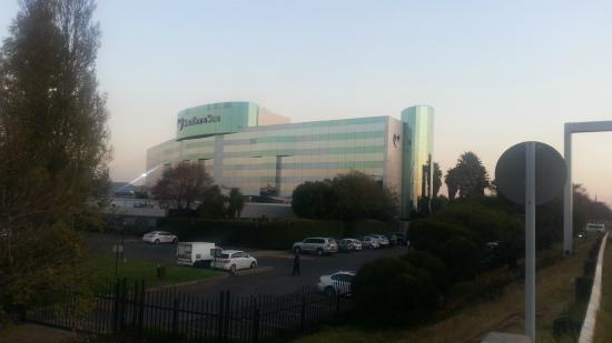 Southern Sun O.R Tambo International Hotel: View from main street