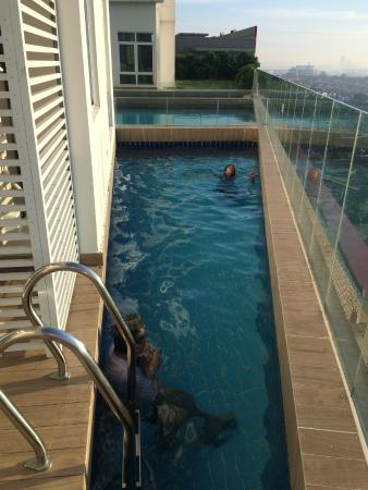 Our private mini pool picture of ksl hotel resort johor bahru tripadvisor for Private swimming pool malaysia