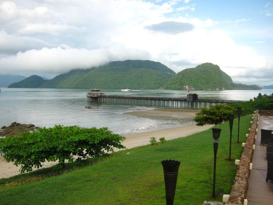 The Westin Langkawi Resort & Spa: The jetty where you can have your dinner served