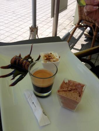 Olive Restaurant Grec: café gourmand