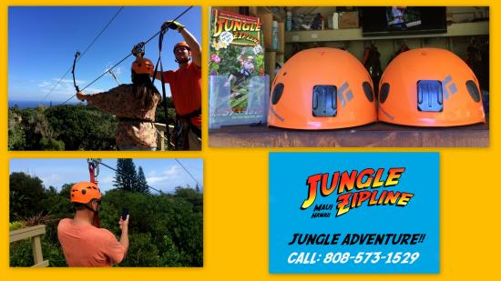 Jungle Zipline: bring with you go pro, cameras, phones