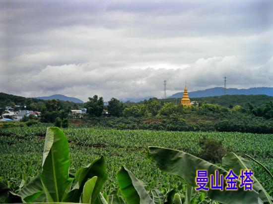 Menghai County, China: 勐海打洛坝景观