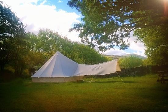 Dinas caravan, camping & glamping