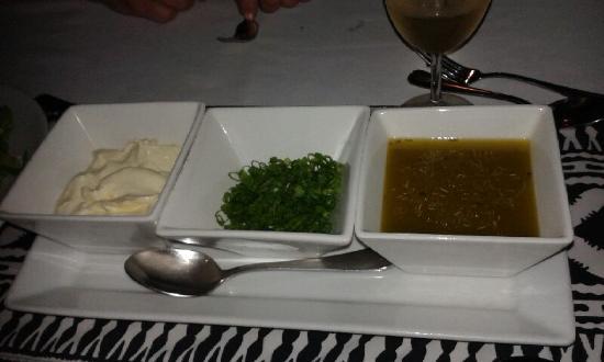 Lomani Wai at the Radisson Blu Resort: A side, to top it off...