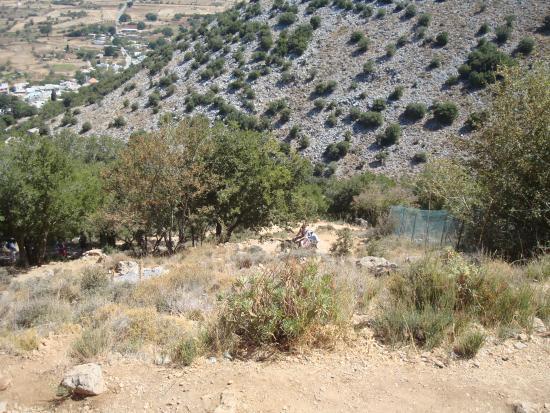Psichro, Hellas: Тропа к пещере