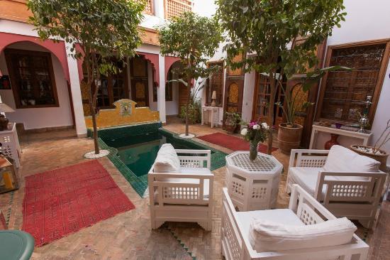 Riad Sadaka : Espace Piscine/patio