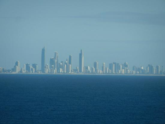 Rainbow Place: Surfers Paradise in the distance
