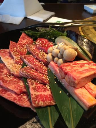 Yakiniku (Grilled meat) Kansai Fukuju Akihabara
