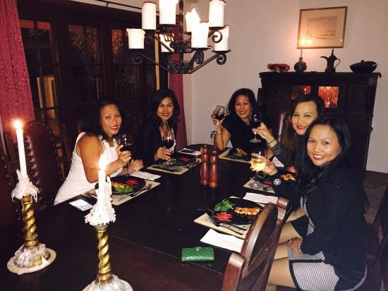 كينجفيشرز مانور آت نوسا: Birthday celebration dinner courtesy by Ged
