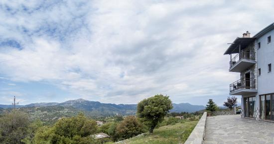 Aiora Luxury Suites: Εξαιρετική θέα