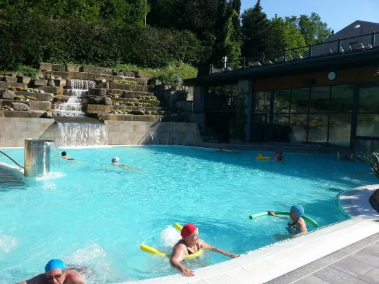 Piscina esterna - Picture of Roseo Euroterme Wellness Resort, Bagno ...