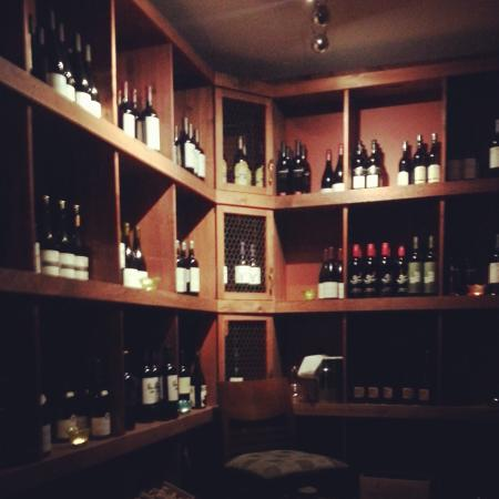Chives Canadian Bistro : The vault
