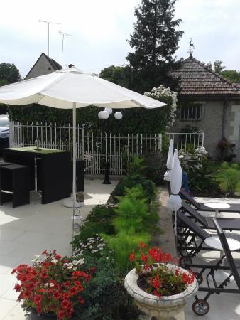 La Métairie : La terrasse