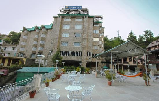 Golden Tulip Manali: Exterior view with Front Terrace Restaurant