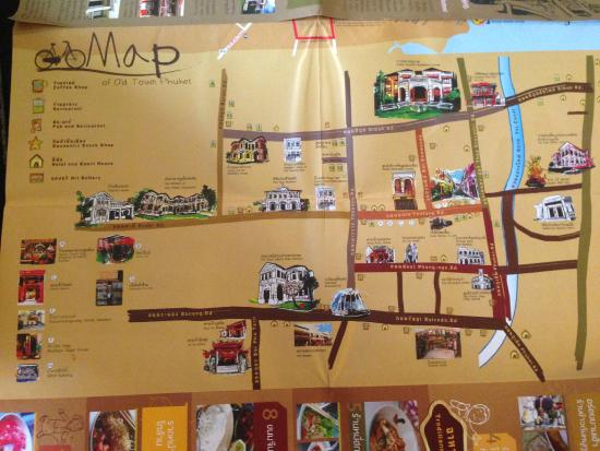 Phuket 346: Townkarte
