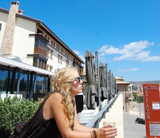Hotel & Spa Balfagon: Lounge Bar