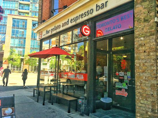 Photo of Italian Restaurant G For Gelato at 75 Jarvis St, Toronto M5C 2H2, Canada