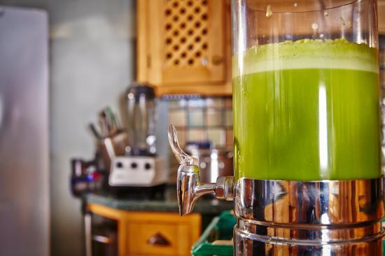 Homefield Grange Retreat: Juice