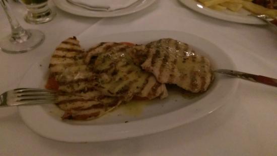 Finikia Restaurant : мясо гриль