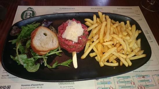 O'Brasseur: Steak Tartare