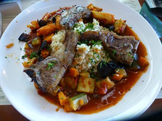 O'Brasseur: Lamb and couscous (menu du jour main)