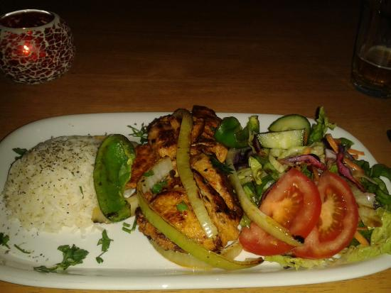 Lovely chicken shish salad picture of anatolia for Anatolia mediterranean cuisine