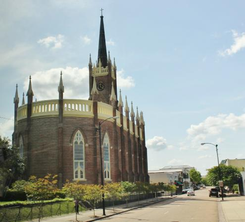 St. Mary Basilica, Natchez, May 2015