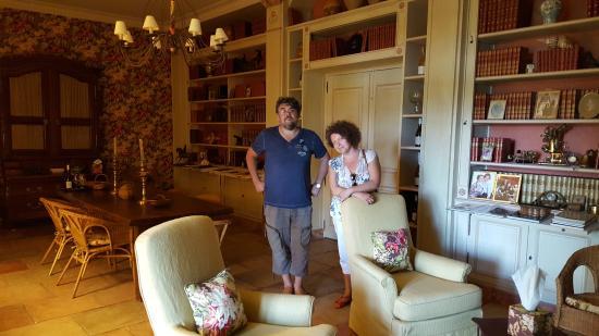 Chateau Gigognan : Library