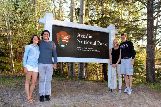 Highbrook Motel Entrance To Acadia National Park