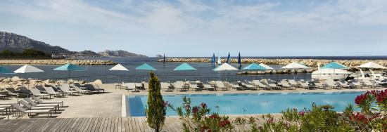 Pullman Marseille Palm Beach: Outdoor Pool