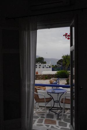 Askas Pension: la vue depuis la fenetre de la chambre
