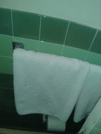 The Olympia Motel: towels (we brought our own toilet paper, thank God)