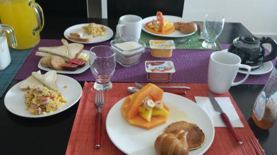 Los Amigos B&B: Desayuno