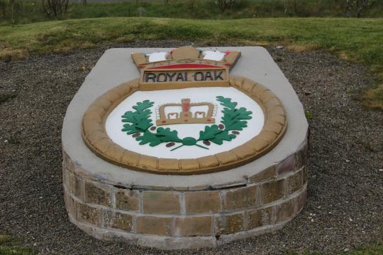 ‪HMS Royal Oak Memorial‬