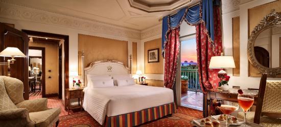 Deluxe Room Picture Of Hotel Splendide Royal Rome Tripadvisor