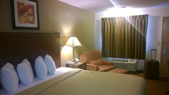 Quality Inn & Suites Atlanta Airport South: Vista parcial do apto.
