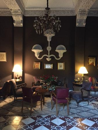 Riad El Arsat: Living Room