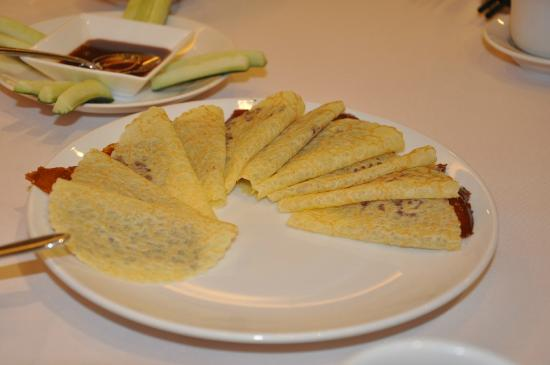 Orchard Lei Garden Restaurant: ペキンダックは文句なし