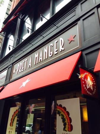 Photo of American Restaurant Pret A Manger USA LTD at 185 Franklin St, Boston, MA 02110, United States