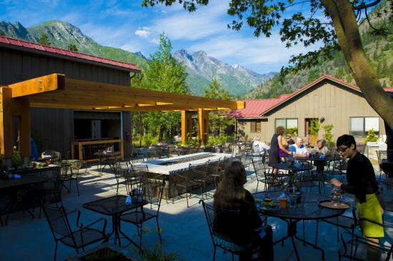 O'Grady's Pantry & Mercantile: Dine under the Sleeping Lady mountain profile