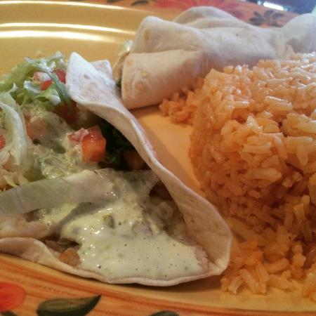 Fish Tacos - Los Arcos Mexican Restaurant