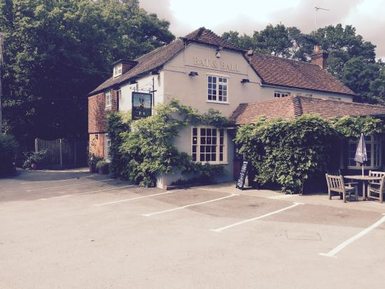 Entrance - Picture of The Bat & Ball Freehouse, Farnham - Tripadvisor