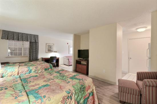 Studio 6 Dallas - Plano Medical Center : Guest Room
