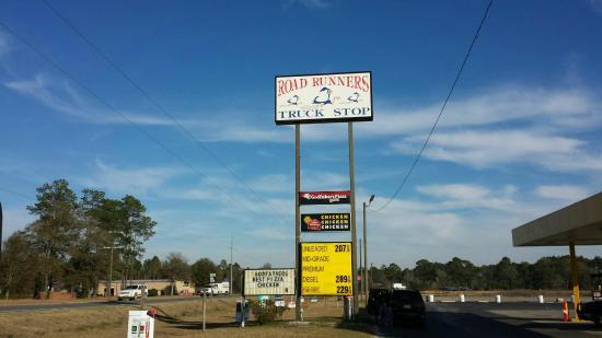 Alma, GA: God father's Pizza and Krispy Krunchy Chicken