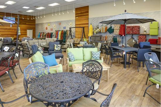 Christy Sports Ski And Snowboard: Patio Showroom